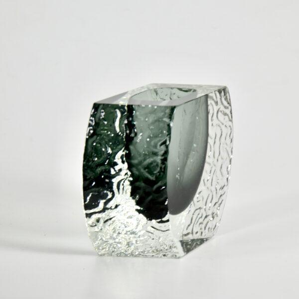Large 1960s Mandruzzato sommerso vase mid century murano italian art glass (9)