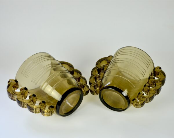 pierre d'avesn art deco vase pair divine style french antiques