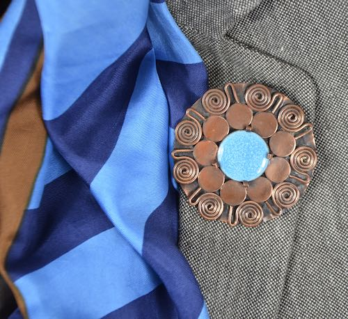 jean Augis art deco brooch divine style french antiques 1