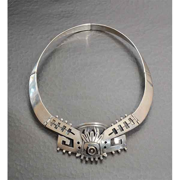 1950s VOD Mexico silver necklace divine style 1
