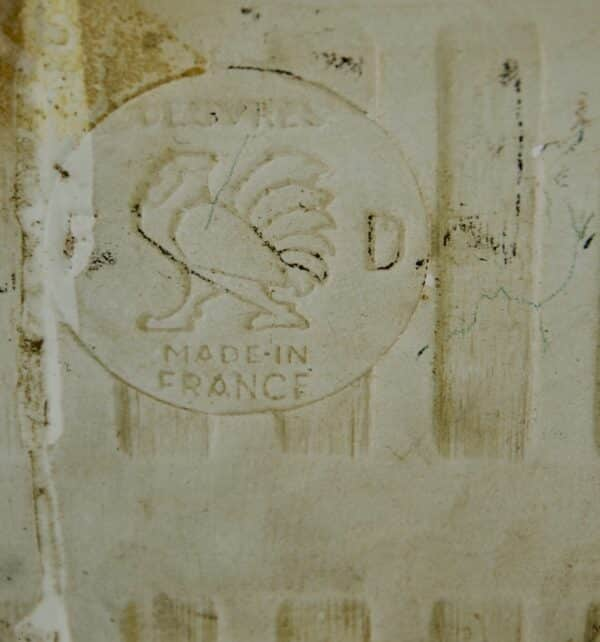 divine style french antiques French vintage utensil rack white tiles 4