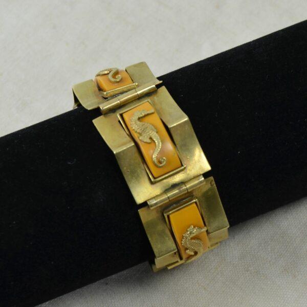 Jean Painlevé seahorse bracelet divine style french antiques 2