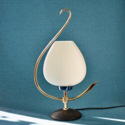 divine style french antiques Arlus 1960s modernist lamp 4