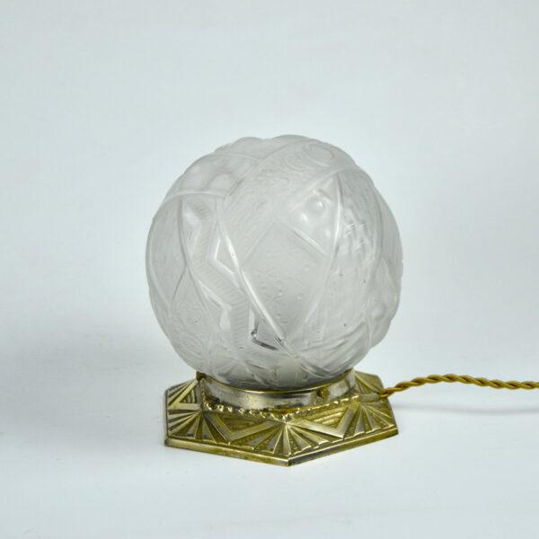 divine style muller freres art deco globe lamp nightlight 1