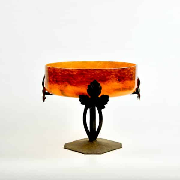 divine style french antiques Degué French Art Deco glass