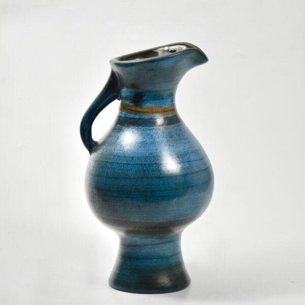 jean de lespinasse jug vase mid century french ceramic 1950s 1960s pottery 1