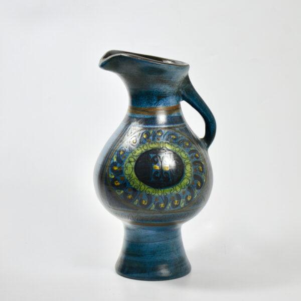 jean de lespinasse jug vase mid century french ceramic 1950s 1960s pottery