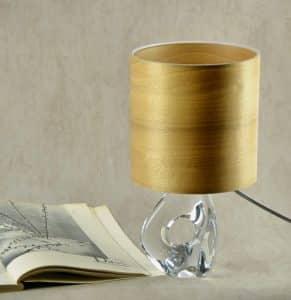 Daum crystal freeform lamp 1950s