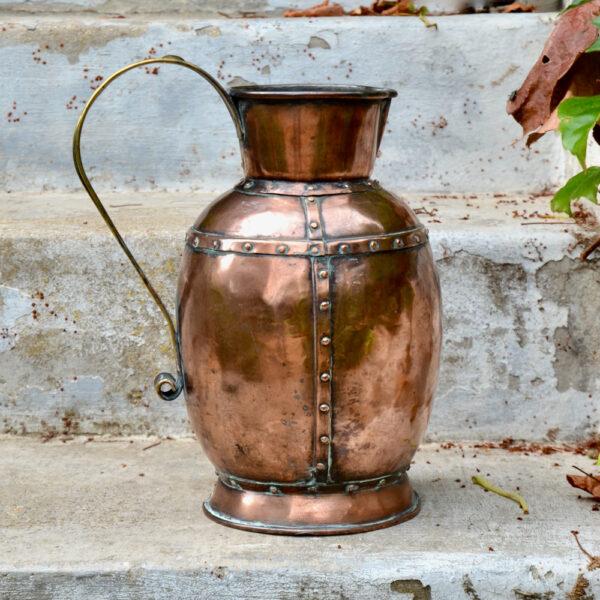 19thc English copper jug