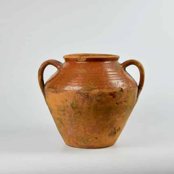 divine style french antique earthenware confit pot 2 3