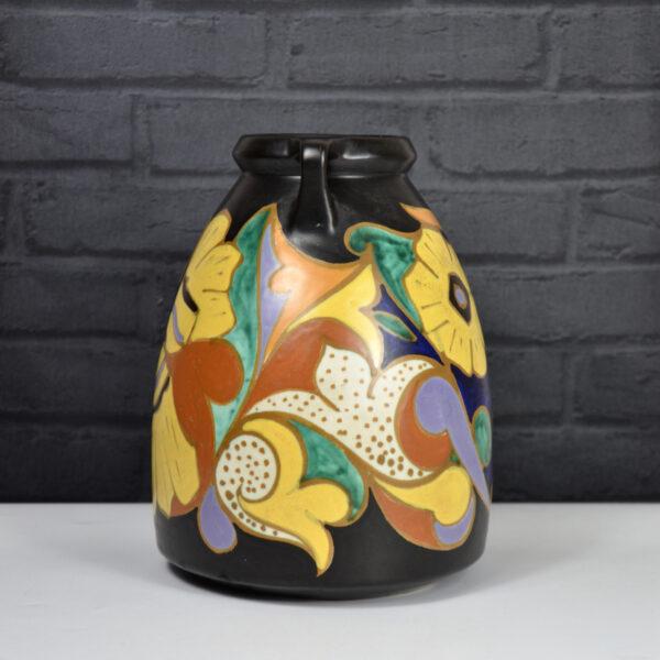 ESKAF Art Deco vase Steenwijk Van Norden NL 1930s ear vase 1