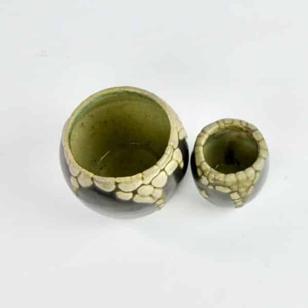 divine style french antiques pointu peau de serpent vases 4