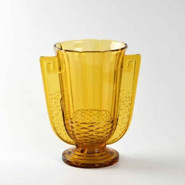 divine style french antiques luxval romeo art deco vase