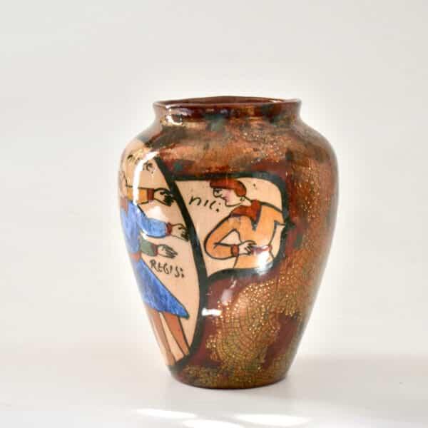 divine style french antiques rene emile brenner bayeux tapestry lustre vase 1