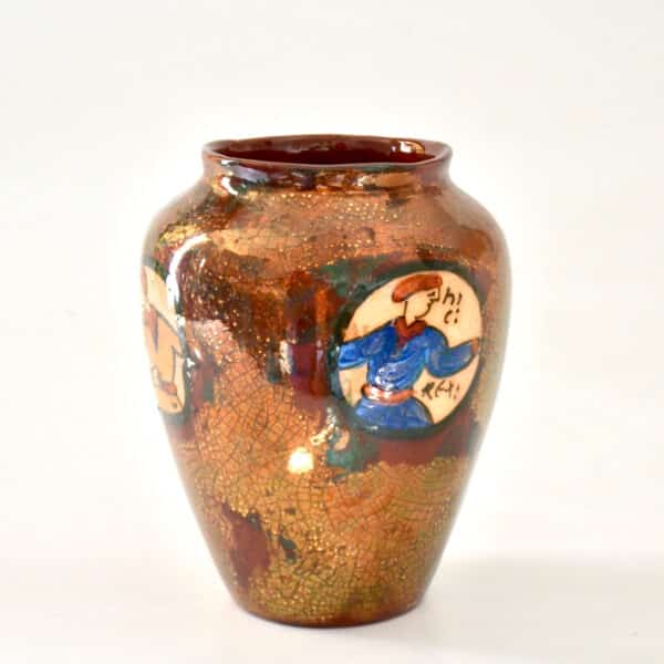 divine style french antiques rene emile brenner bayeux tapestry lustre vase 3