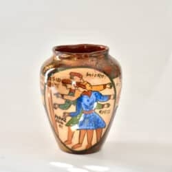 divine style french antiques rene emile brenner bayeux tapestry lustre vase 4