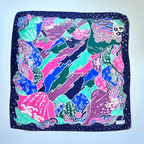 divine style french antiques jeanne lanvin silk scarf japan 2