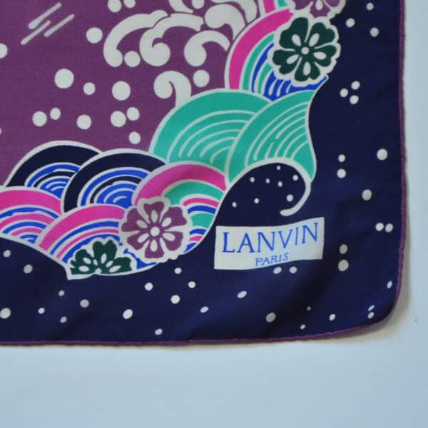 divine style french antiques jeanne lanvin silk scarf japan 4