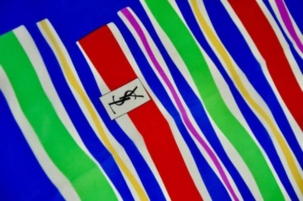 divine style french antiques ysl yves saint laurent scarf 1970s 4