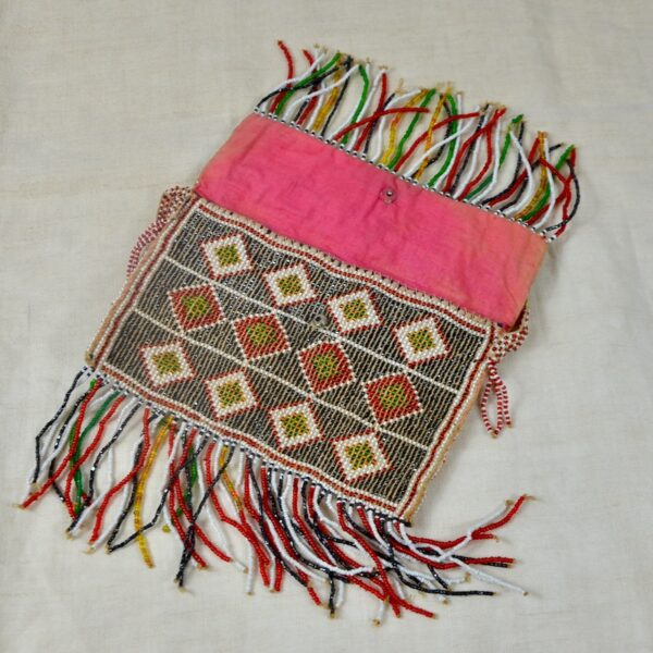 divine style french antiques french beaded flapper purse bag 1930s 1