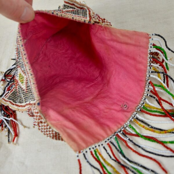 divine style french antiques french beaded flapper purse bag 1930s 3