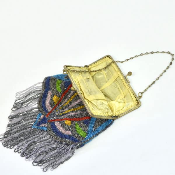 divine style french antique Art Deco beaded bag 1