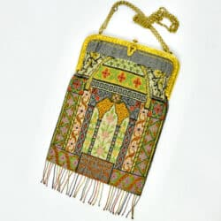 divine style french antiques 19th century beaded bag architectural