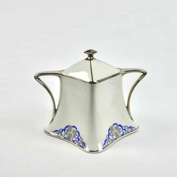divine style french antiques Lanternier Limoges Art Deco Tea Coffee 2