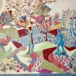 divine style french antiques midcentury modern tapestry wall hanging 3