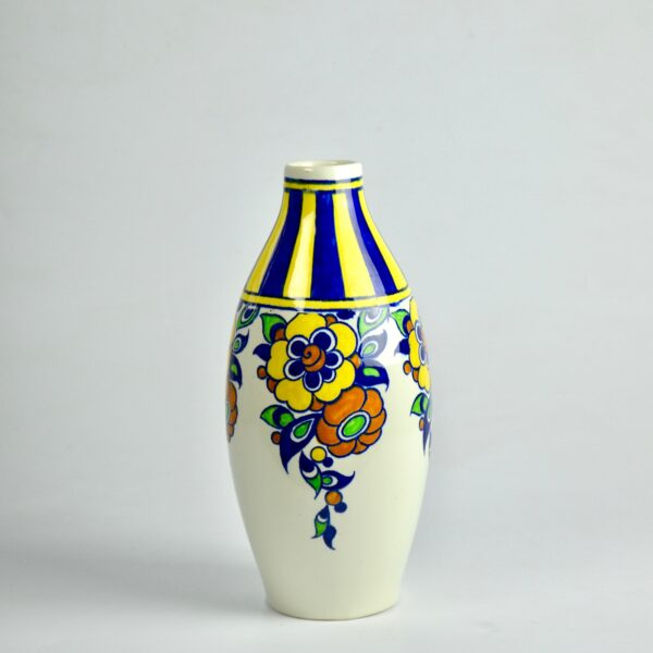 divine style french antiques charles catteau vase art deco signed