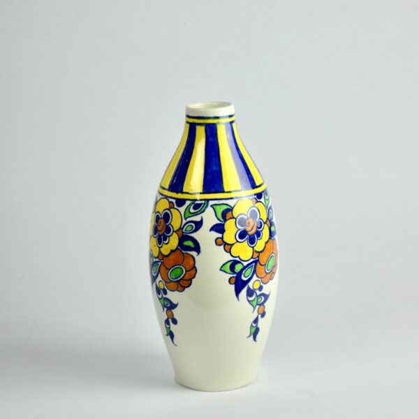 divine style french antiques charles catteau vase signed 1