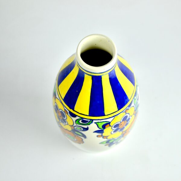 divine style french antiques charles catteau vase signed 2