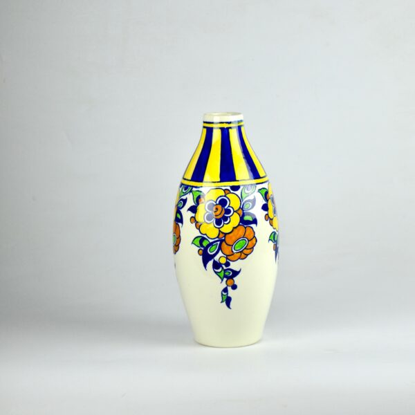 divine style french antiques charles catteau vase signed