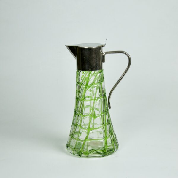 divine style french antiques loetz kralik decanter 1900