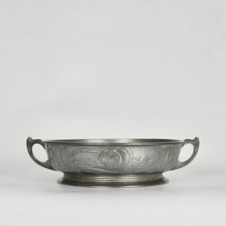 divine style french antiques orivit art nouveau pewter bowl 1900 5 (1)