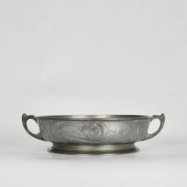 divine style french antiques orivit art nouveau pewter bowl 1900 5 (1)