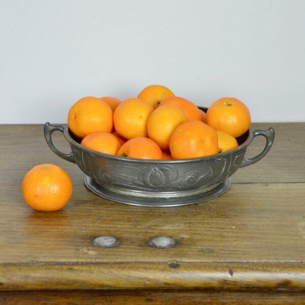 divine style french antiques orivit art nouveau pewter bowl 1900 7