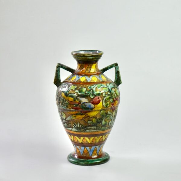 divine style french antiques Perugia Italian pottery vase