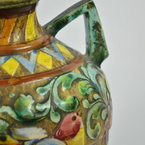 divine style french antiques Perugia Italian pottery vase 3