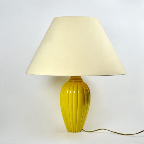 divine style french antiques art deco lamp MNF sèvres 1930
