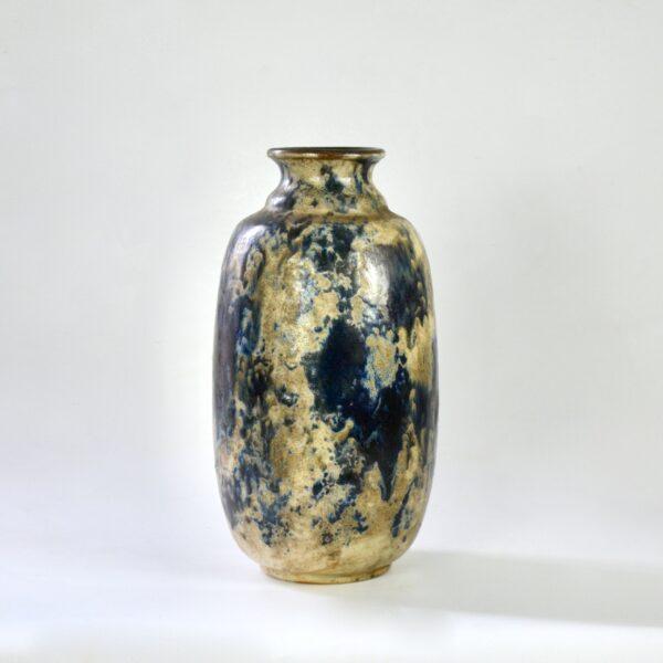 divine style french antiques fernand carpent Bouffioulx art deco stoneware vase 1