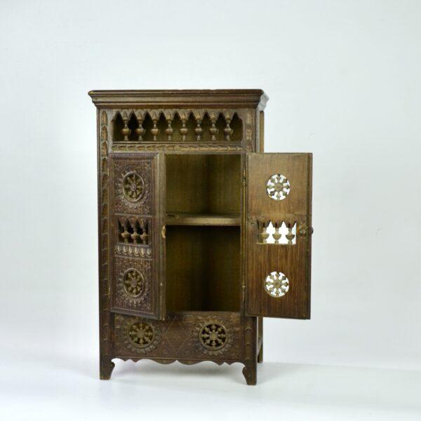 divine style french antiques miniature breton wardrobe dollhouse armoire 1