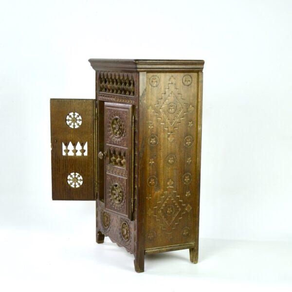 divine style french antiques miniature breton wardrobe dollhouse armoire 2