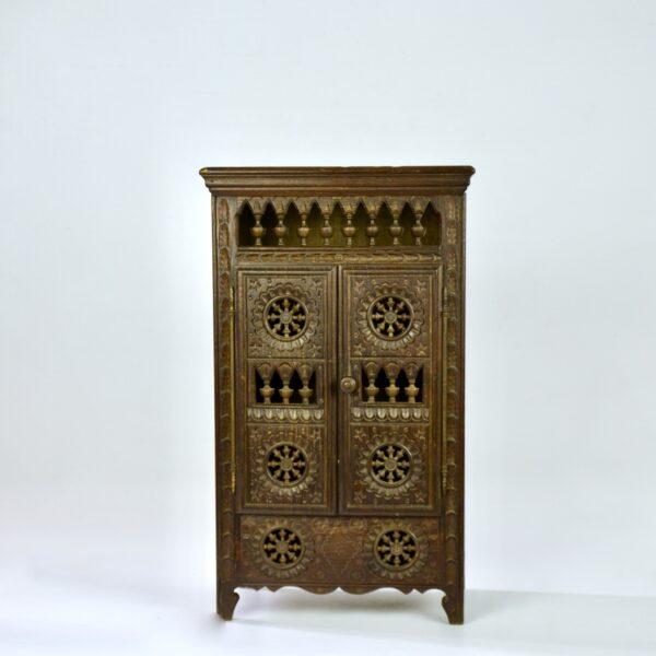 divine style french antiques miniature breton wardrobe dollhouse armoire