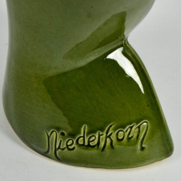 art deco Niederkorn cubist vase 1920s divine style french antiques 3