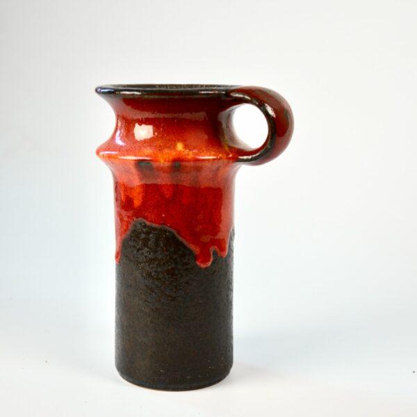 Jasba drip glaze vase 1221 19 divine style french antiques 2