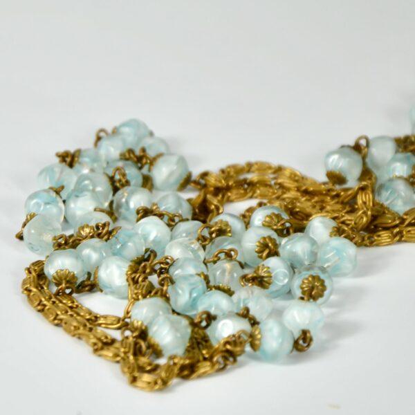 1920s sautoir flapper necklace givre beads 1920s divine style 3