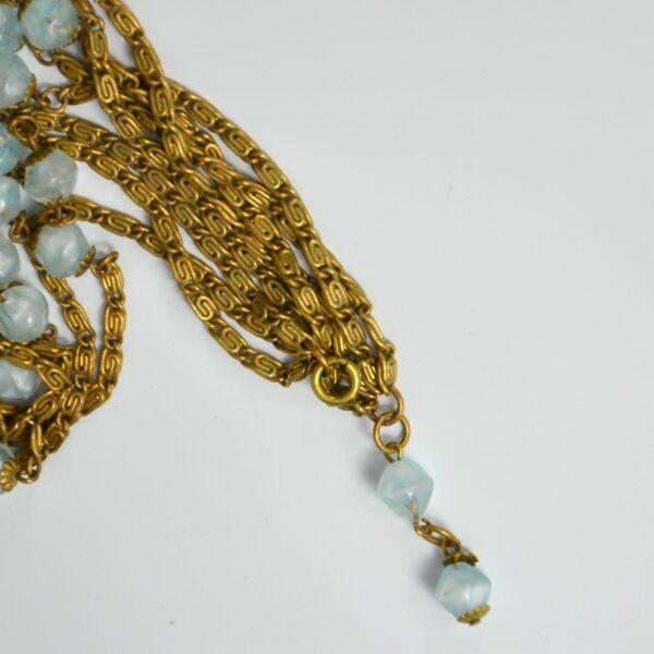 1920s sautoir flapper necklace givre beads 1920s divine style 4