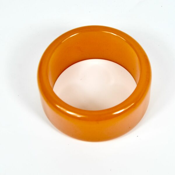 vintage bakelite bangle extra wide divine style french antiques 2