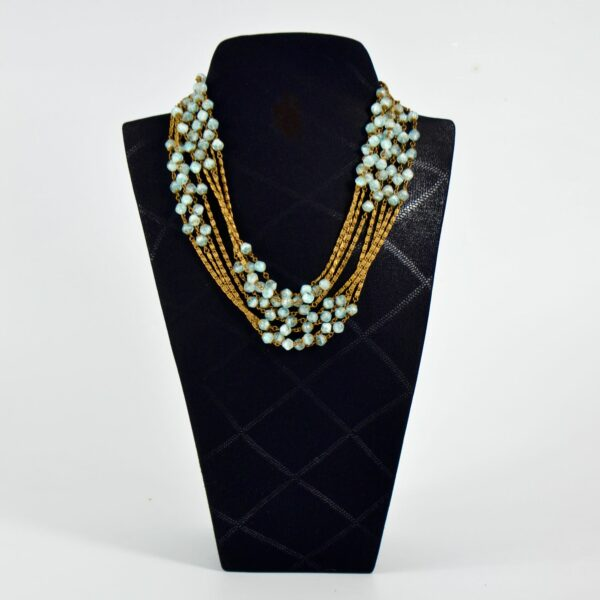 1920s sautoir flapper necklace givre beads 1920s divine style 2